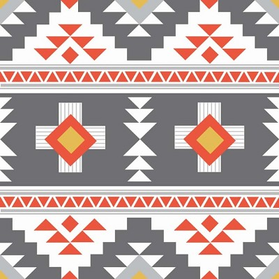 Riley Blake Designs - Four Corners By Simple Simon & Co - Main in Grey