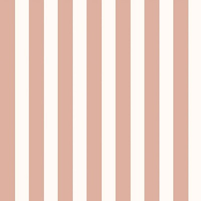 Riley Blake Designs - Yes Please Stripes Cream with Rose Gold Metallic