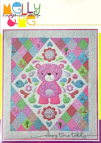 melly me teddy bears picnic sleepy time teddy quilt pattern