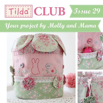 Tilda Club - Issue 29 Easter Dilly Bag