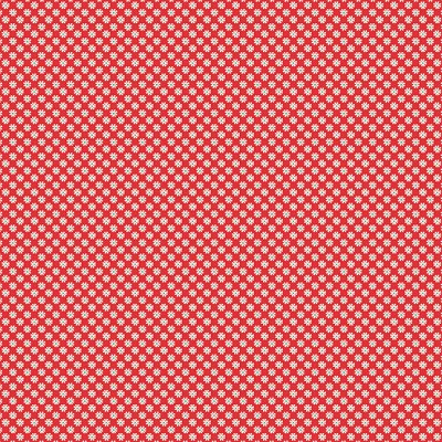 Andover Fabrics - Katie Jane Daisy in Red