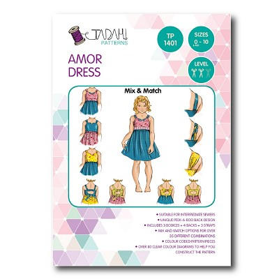 Tadah Patterns - Amor Dress