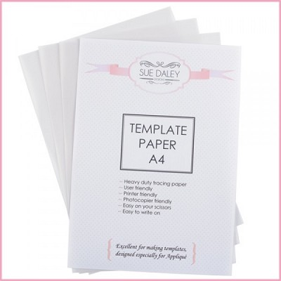 Sue Daley Designs - Template Paper A4 x 3 Sheets