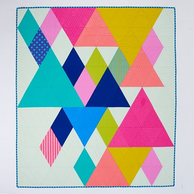 Tied with a Ribbon - End Game Quilt Kit including Pattern & Templates