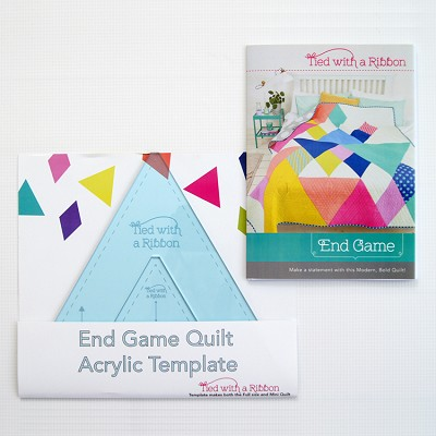 Tied with a Ribbon - End Game Quilt Pattern & Template Set
