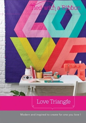 Tied with a Ribbon Love Triangle Quilt Pattern