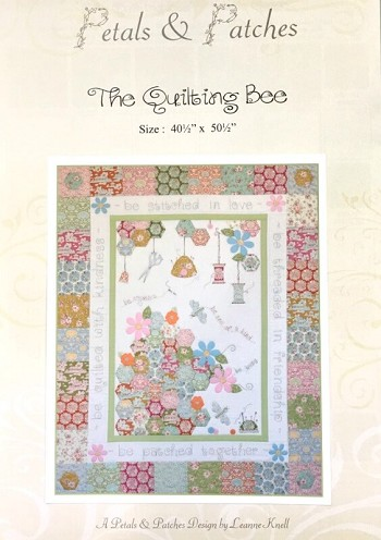 Tilda Bumblebee The Quilting Bee Quilt Pattern By Petals And Patches