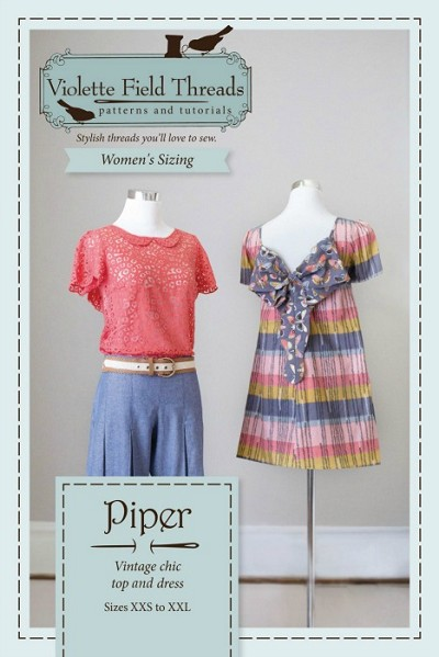 Violette Field Threads - Piper Womens Top and Dress Pattern