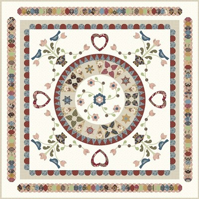 Sue Daley Designs - Birdsong Quilt