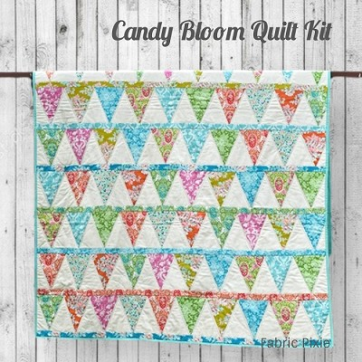 Tilda - Candy Bloom Quilt Kit made in Tilda Sunkiss