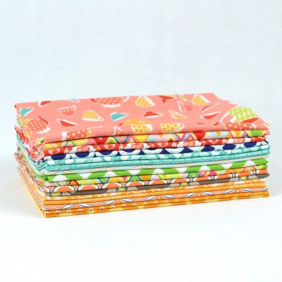 Riley Blake Designs - Amanda Herring Brights - Half Metre Bundle 16 pieces