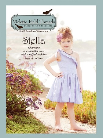Stella - Violette Field Threads Girls Dress Pattern