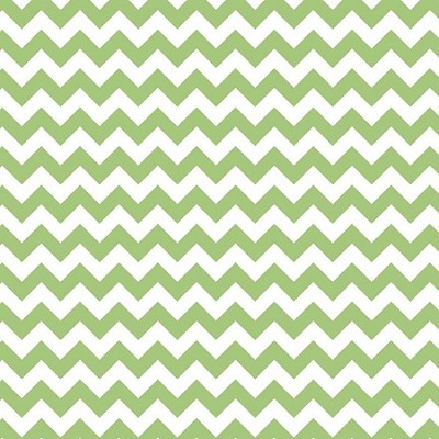 Riley Blake - Small Chevron in Green