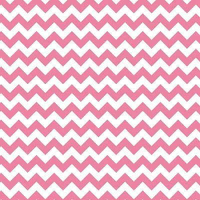 Riley Blake - Small Chevron in Hot Pink
