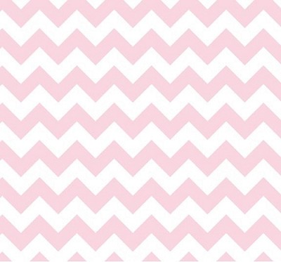 Riley Blake - Small Chevron in Baby Pink