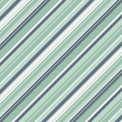Riley Blake Designs - A Beautiful Thing - Stripe in Blue *** REMNANT 3.85 METRE PIECE ***