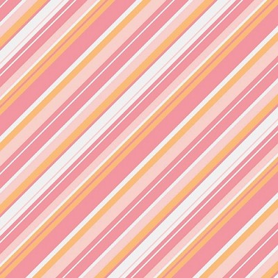 Riley Blake Designs - A Beautiful Thing - Stripe Multi Pink
