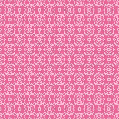 Riley Blake Designs - Summer Song 2 - Damask in Pink