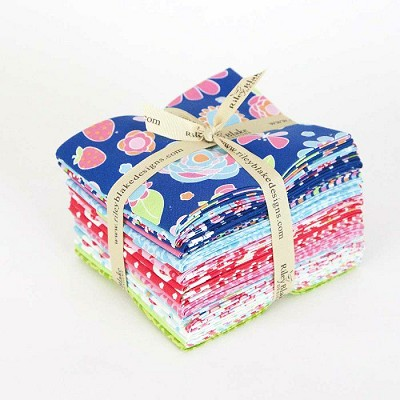 Riley Blake Designs - Flutterberry - Fat Quarter Bundle of 18 Fabrics