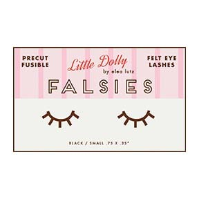 Little Dolly - Falsies - Felt Eye Lashes by Elea Lutz